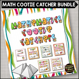 Math Review Cootie Catcher Bundle
