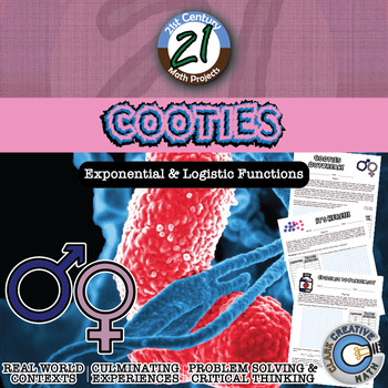 Cooties: an Epidemic -- Exponential & Logistic Regression Function STEM Project
