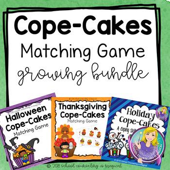 Cope-Cakes Matching Game (Growing Bundle)