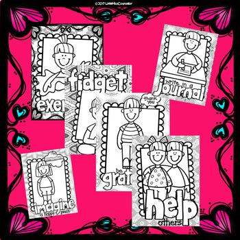 Cope 'n Color A-Z: Coloring Coping Skills Across Alphabet