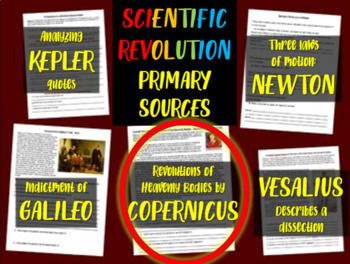 Copernicus - Scientific Revolution Primary Source with guiding questions