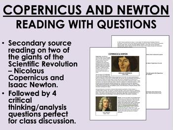 Copernicus and Newton - Scientific Revolution - Global/World History