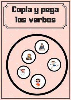 Copia y pega los verbos