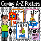 Coping A-Z Posters:  Perfect for School Counselors