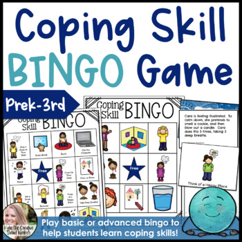 Coping / Calming Skills Bingo