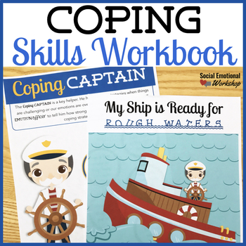 Coping Captain Strategy Workbook: Help Kids Practice Coping Skills by Social Emotional Workshop