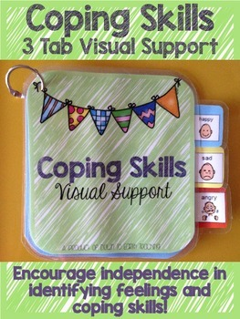 Coping Skills: 3 Tab Visual Support