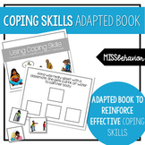 Coping Skills Adapted Book | Social Emotional Adapted Book