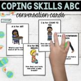 Coping Skills Alphabet Conversation Cards