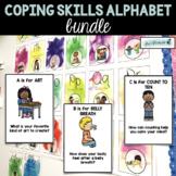 Coping Skills Alphabet Line & Conversation Cards BUNDLE