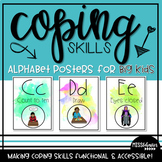 Coping Skills Alphabet Line - For Older Students