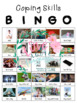 Coping Skills BINGO with 3 Game Versions: 5-12th Grade