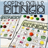 Coping Skills Bingo Counseling Game to Practice Calming Strategies