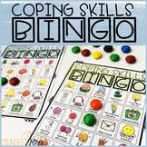 Coping Skills Bingo Counseling Game to Practice Calming Strategies