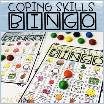 Coping Skills/Coping Strategies Bingo Game