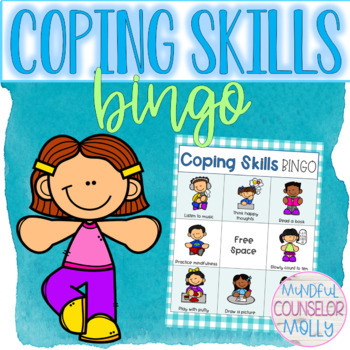 Coping Skills Bingo Worksheets & Teaching Resources | TpT