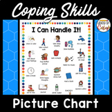 Coping Skills Calm Down Chart with Pictures
