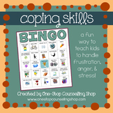 Coping Skills Bingo Game (2 different versions!)