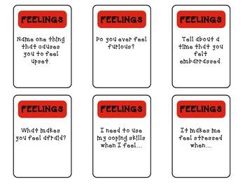 Coping Skills Board Game