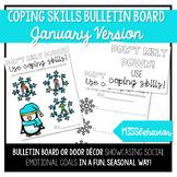 Coping Skills Bulletin Board - January Version