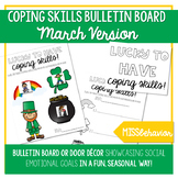 Coping Skills Bulletin Board - March Version