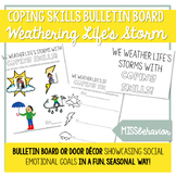 Coping Skills Bulletin Board | We Weather Life's Storms wi