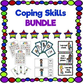 Coping Skills Bundle with Guidance Lesson