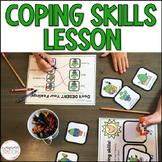 Coping Skills Cactus - Mini-Lesson and 2 Activities