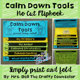Coping Skills Calm Down Anger Control Flipbook (Calming St