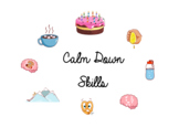 Coping Skills Calm down skills Breathing Visuals Poster