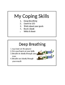 Coping Skills Cards Worksheets & Teaching Resources | TpT