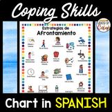 Coping Skills Chart in SPANISH
