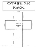 Coping Skills Cube Template