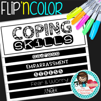 Coping Skills Flip Book