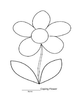 Coping Skills Flower