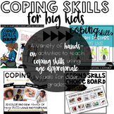 Coping Skills For Big Kids Bundle