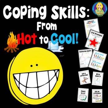 Coping Skills From Hot To Cool CBT Behavior Reflection Pack