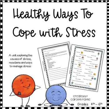 Coping Skills:  Healthy Ways to Cope with Stress (Elementary)