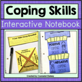 Coping Skills Activities For SEL and Counseling Interactive Notebooks