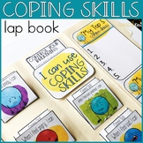 Coping Skills Activities: Interactive Lap Book with Calming Strategies Cards