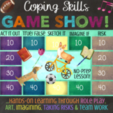 COPING SKILLS: Stress, Anxiety & Anger Management Lesson / Game *FUN & LOW-PREP