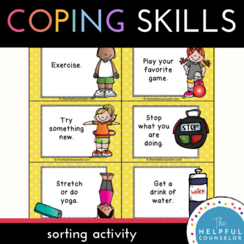 Coping Skills: Making Good Choices Activity