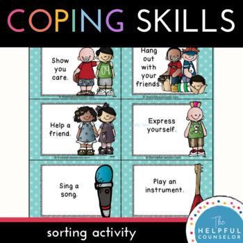 Coping Skills: Making Good Choices Activity