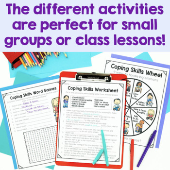 Coping Skills Activities by CounselorChelsey   Teachers ...