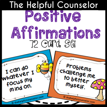 Coping Skills: Positive Affirmations for Children by The Helpful ...