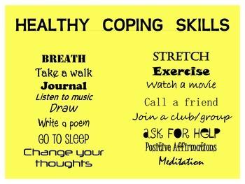 Coping Skills Poster