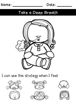 Coping Skills: Processing Sheets