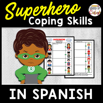 Coping Skills Self Regulation Worksheets In Spanish By Created By