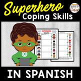 Coping Skills Self Regulation Worksheets in SPANISH