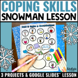 Coping Skills Snowman Project